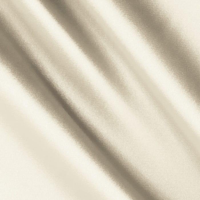 Silky Satin Charmeuse Solid Ivory