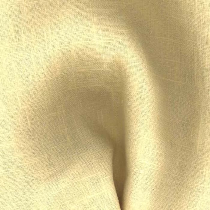 European 100% Linen Butter Yellow