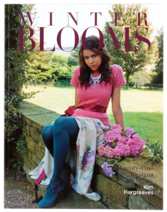 Winter Blooms by Kim Hargreaves Knit Pattern Book